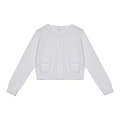 bluezoo - Girls' white cardigan