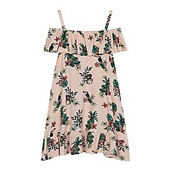 bluezoo - 'Girls' pink floral print dress