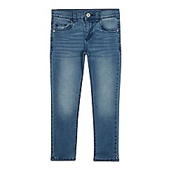 bluezoo - Girls' blue mid wash jeans