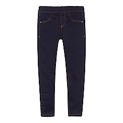 bluezoo - 'Girls' dark blue jeggings