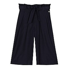 J by Jasper Conran - 'Girls' navy belted culottes
