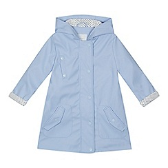 J by Jasper Conran - Girls' lilac fisherman coat