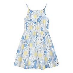 J by Jasper Conran - 'Girls' blue daisy print dress