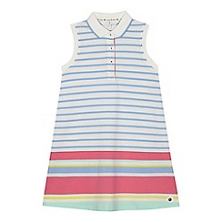 J by Jasper Conran - 'Girls' multi-coloured block striped dress