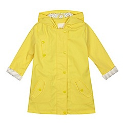 J by Jasper Conran - 'Girls' yellow fisherman coat