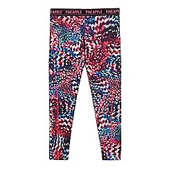 Pineapple - Girls' multicoloured printed leggings