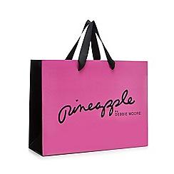 Pineapple - Girls' Pink logo print fashion bag