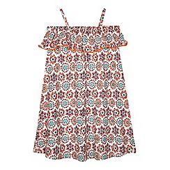 Mantaray - Girls' multi-coloured printed dress