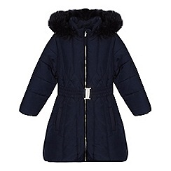 bluezoo - Girls' navy padded coat