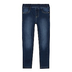 bluezoo - Girls' Blue Jersey Denim Jeggings