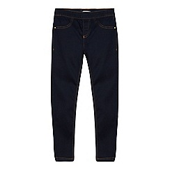 bluezoo - Girls' Blue Dark Wash Jeggings