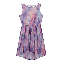 bluezoo - Girls' multi-coloured unicorn print dress