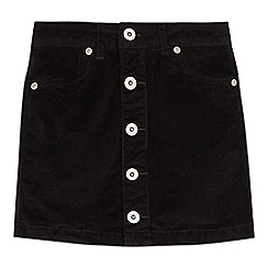bluezoo - Girls' black corduroy skirt