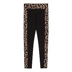 bluezoo - Girls' multi-coloured animal print leggings