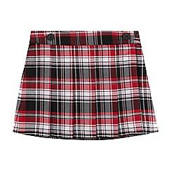 bluezoo - Girls' Red Tartan Skirt