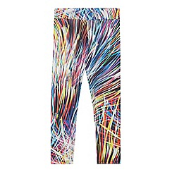 bluezoo - Girls' multicoloured fireworks print leggings