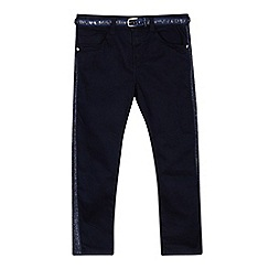 J by Jasper Conran - 'Girls' navy regular fit jeans