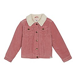 Mantaray - Girls' pale pink cord jacket