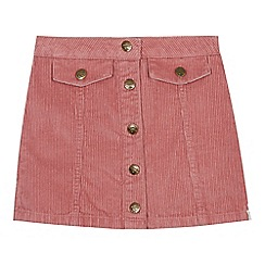 Mantaray - Girls' pink corduroy skirt