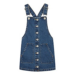 bluezoo - Girls' Blue Denim Pinafore
