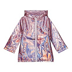 bluezoo - Girls' Pink Iridescent Jacket