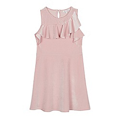 bluezoo - Girls' Pale Pink Velvet Dress