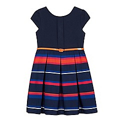 J by Jasper Conran - Girls' Multicoloured Striped Dress