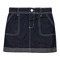 J by Jasper Conran - Girls' Navy Denim Skirt