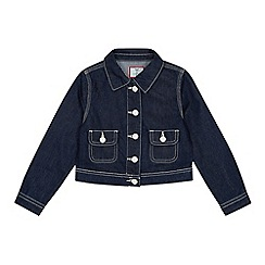 J by Jasper Conran - Girls' Navy Denim Jacket