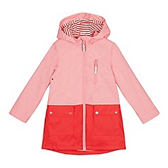 J by Jasper Conran - Girls' Bright Pink Rubber Coat