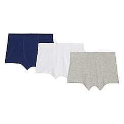 Debenhams - 3 pack boys' assorted trunks