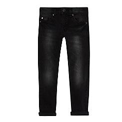 bluezoo - Boys' black super skinny jeans