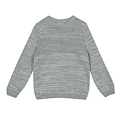 bluezoo - Girls' grey knitted jumper