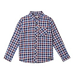 Ben Sherman - Boys' multi-coloured gingham shirt