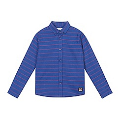 Ben Sherman - Boys' blue striped shirt