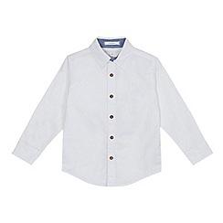 J by Jasper Conran - Boys' white long sleeved Oxford shirt