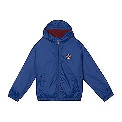 Ben Sherman - Boys' blue logo applique jacket