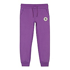 Converse - Girls' purple jogging bottoms