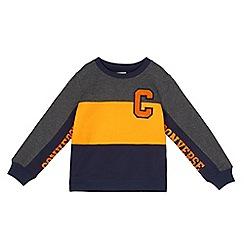 Converse - Boys' multicoloured colour block sweater