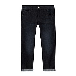 bluezoo - Boys' dark blue twisted jeans