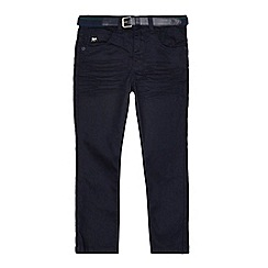 J by Jasper Conran - Boys' navy slim jeans