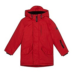 J by Jasper Conran - Boys' red padded parka