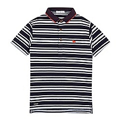 J by Jasper Conran - Boys' multi-coloured popcorn stripe polo shirt