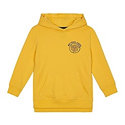 bluezoo - Boys' yellow 'Beyond Cool' hoodie