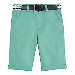 J by Jasper Conran - 'Boys' green chino shorts