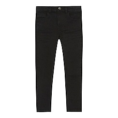 bluezoo - 'Boys' black super skinny jeans