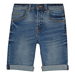 Mantaray - 'Boys' blue vintage wash denim shorts