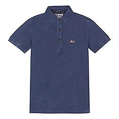 Mantaray - 'Boys' blue polo shirt