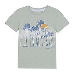 Mantaray - 'Boys' green palm tree print t-shirt