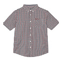 Ben Sherman - Boys' multi-coloured gingham print shirt